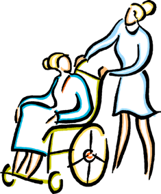 LPN To RN Programs: LPN with patient in a wheelchair