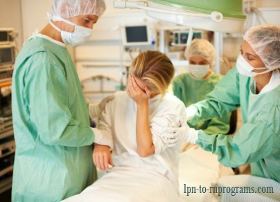 Transcultural Nursing: Nurses consoling a crying patient